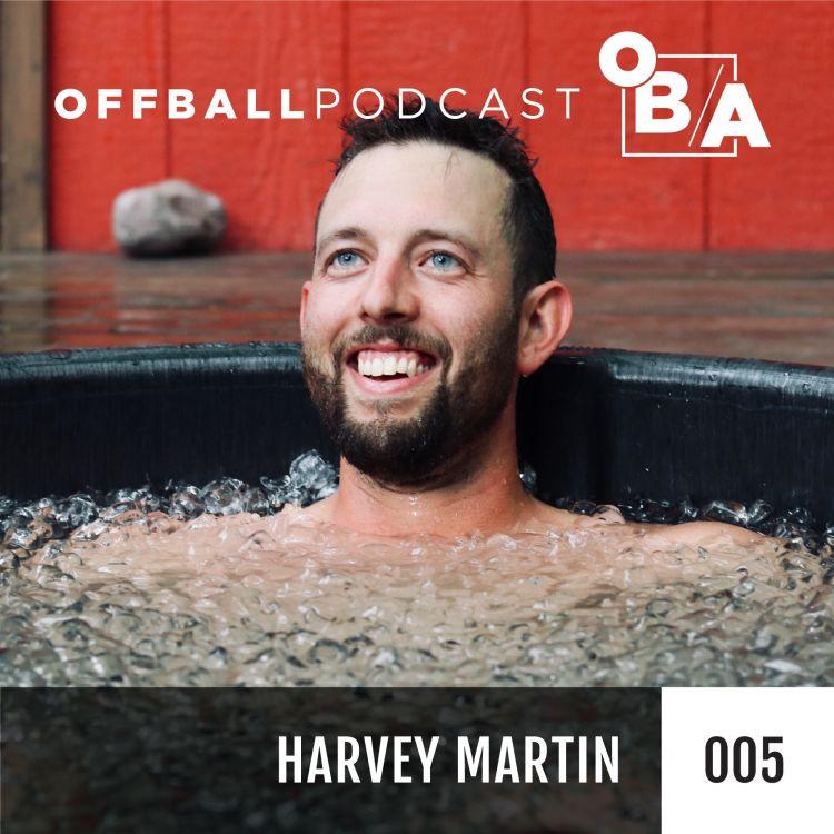 "cover art for S3E5 - ""Feeling is the bottom line"" with Harvey Martin"
