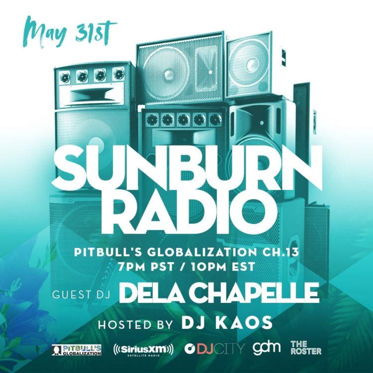 Sunburn Radio Mix on Sirius XM - delaChapelle | Pippa for podcasts