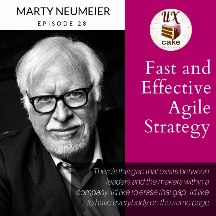 cover art for Fast and effective - Agile Strategy with Marty Neumeier