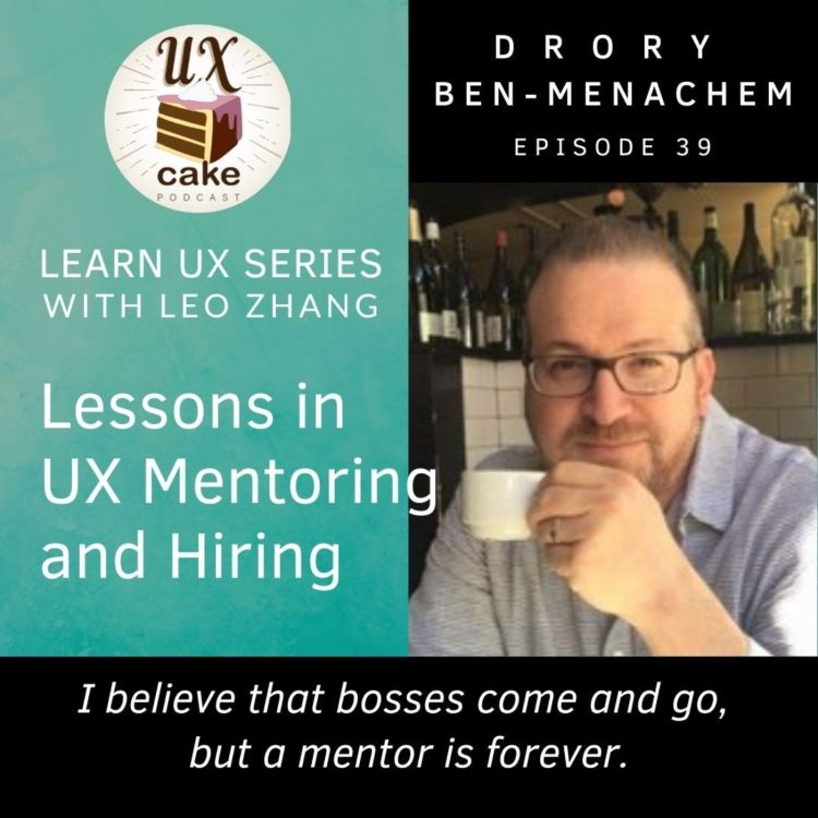 cover art for Learn UX: Mentoring and Hiring