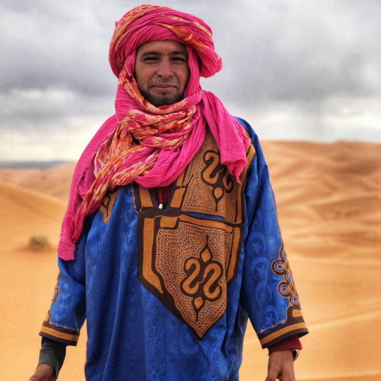 cover art for Live from the Sahara featuring Nomadic tribes.