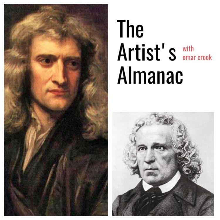 cover art for The Artist's Almanac for Jan 4th, 2018