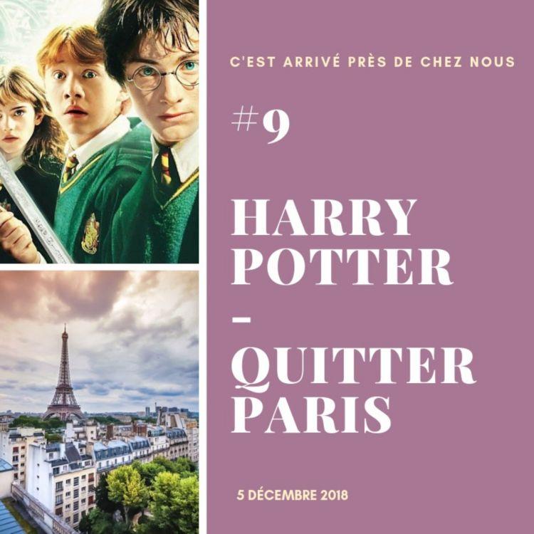 cover art for #9 Harry Potter - Quitter Paris