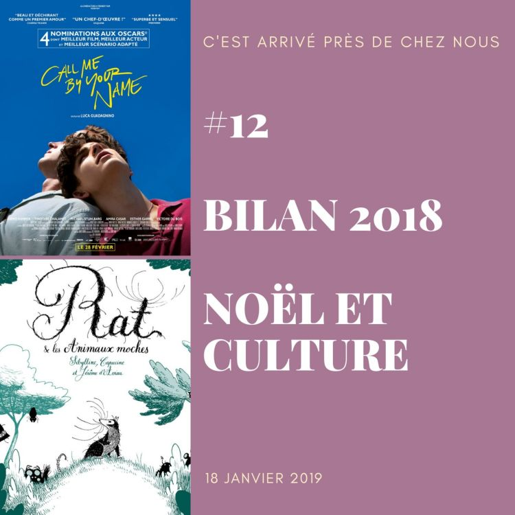 cover art for #12 Bilan 2018 : Noël et Culture