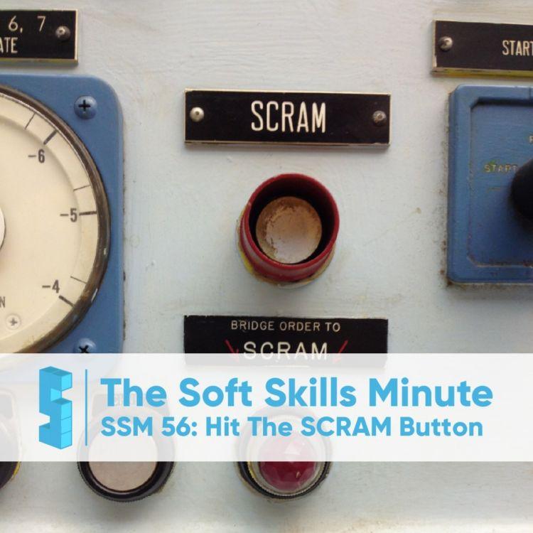 cover art for SSM 56: The SCRAM Button
