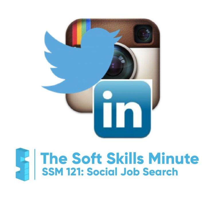 cover art for SSM 121: Job Searching and Social Media