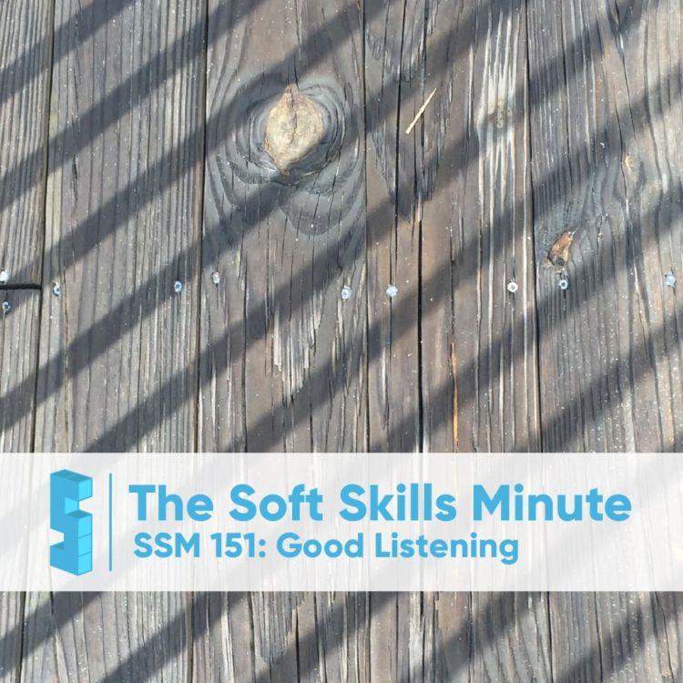 cover art for SSM 151: Good Listening