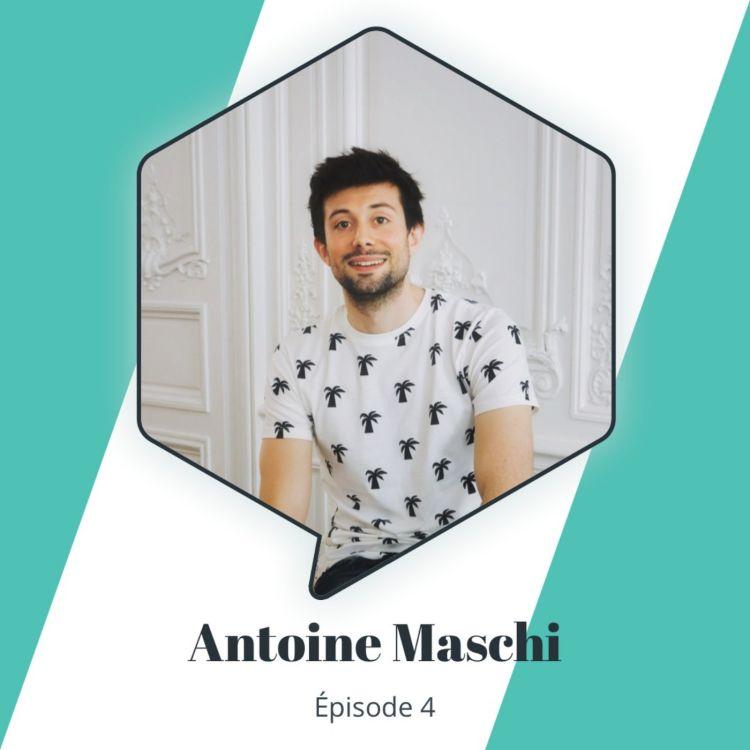 """cover art for Épisode 4 : Antoine Maschi - Produire un chocolat """"bean-to-bar"""" d'exception"""