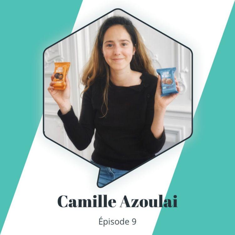 cover art for Épisode 9 : Camille Azoulai - démocratiser les snacks naturels et gourmands