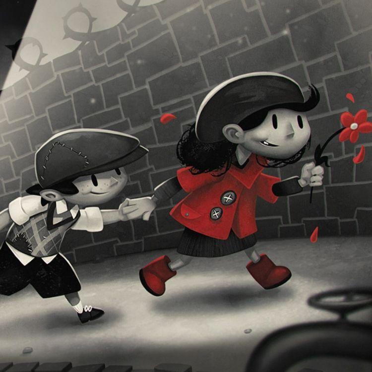 cover art for En rouge et noir, avec My Memory of Us - #JohnCastcast S02E04