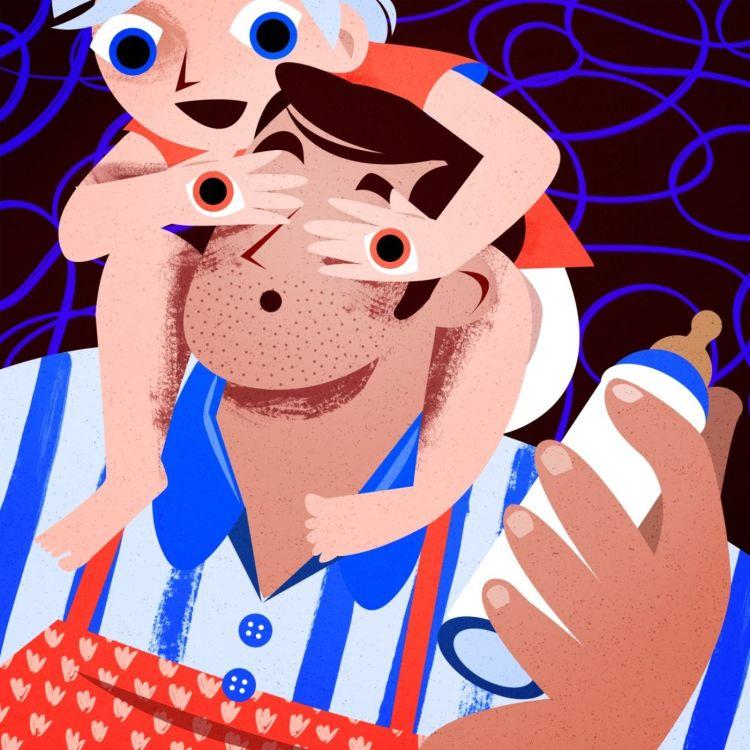 cover art for  Dans la vie de Gregory, policier devenu père au foyer