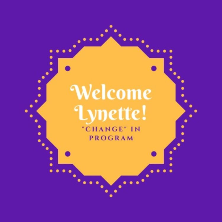cover art for Welcome Lynette!