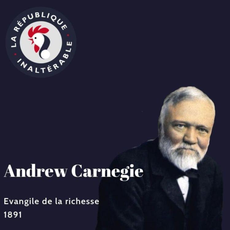 cover art for Alexis Poulin lit Carnegie : L'Évangile de la Richesse