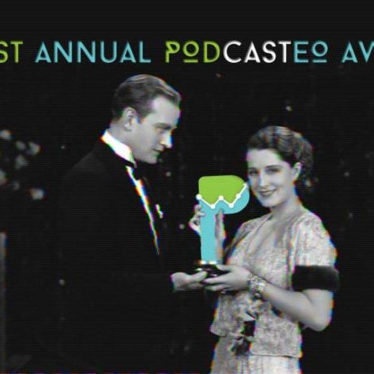 cover art for Podcastéo Awards 2018