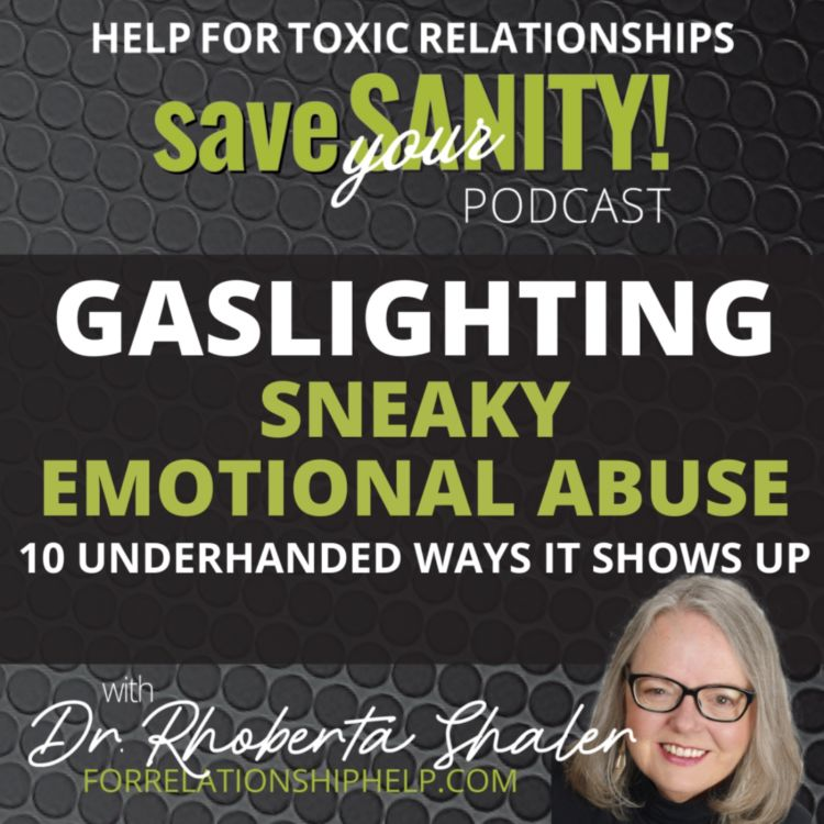 cover art for GASLIGHTING: Sneaky Emotional Abuse