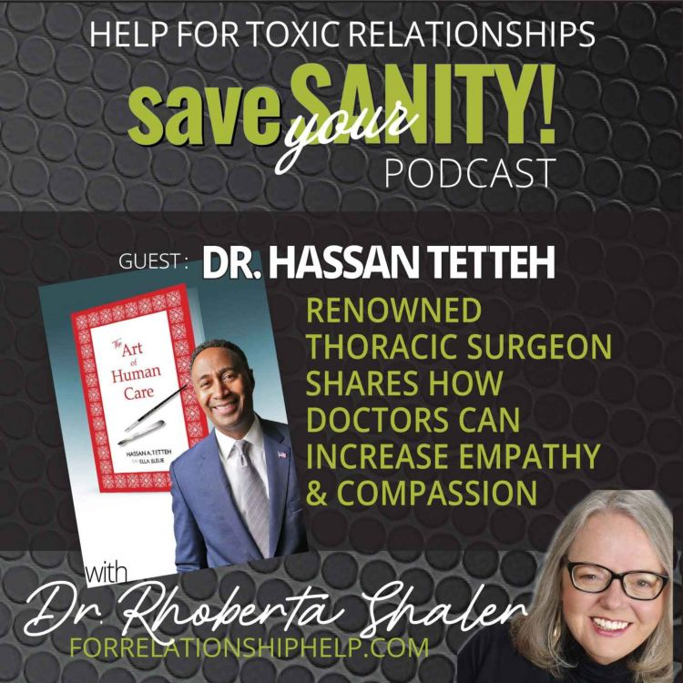 cover art for Renowned Thoracic Surgeon Shares How Doctors Can Increase Empathy & Compassion