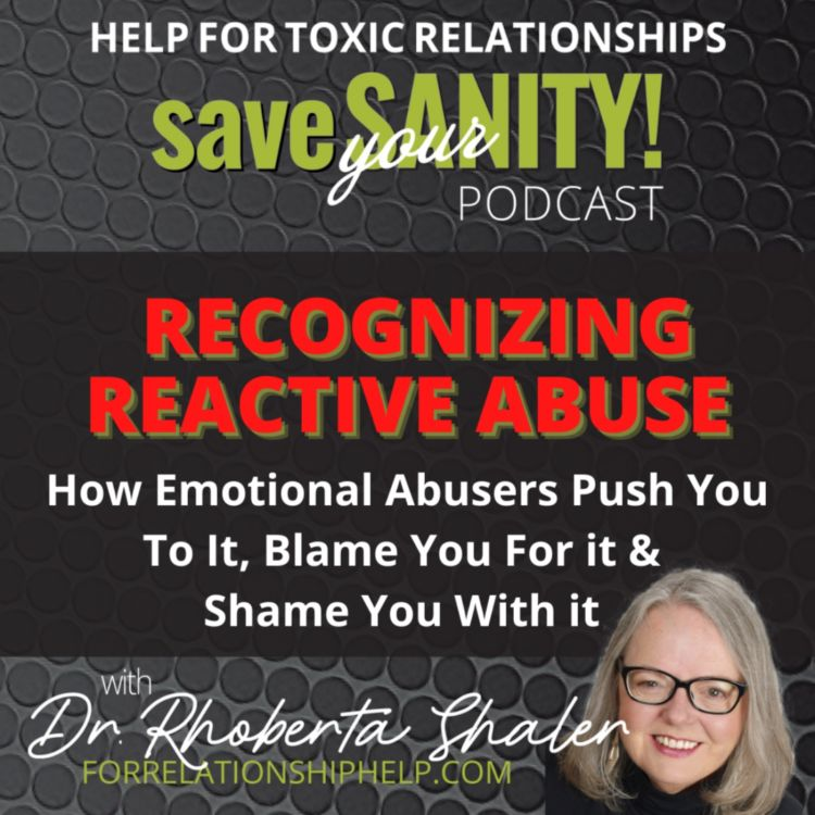 cover art for RECOGNIZING REACTIVE ABUSE