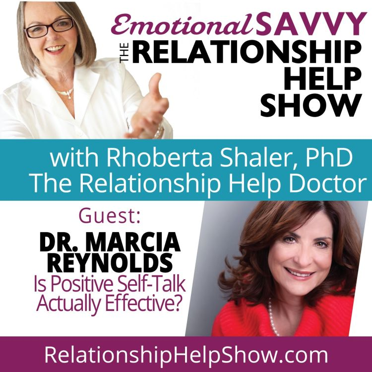 cover art for Is Positive Self-Talk Actually Effective? Brain Stuff!  GUEST: Dr. Marcia Reynolds