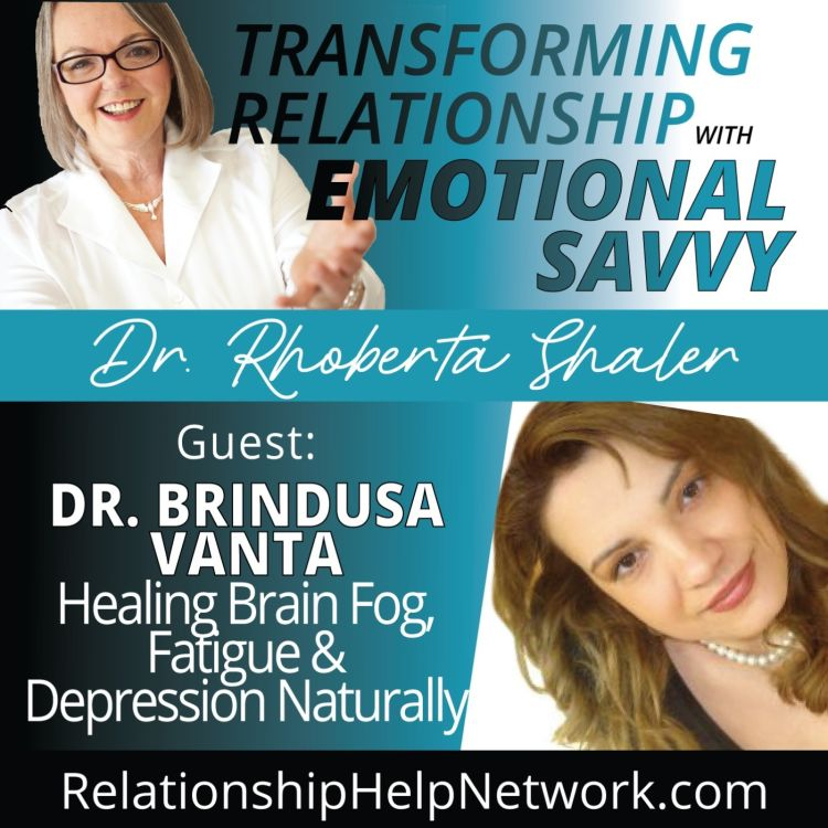 cover art for Healing Brain Fog, Fatigue & Depression Naturally  GUEST: Dr. Brindusa Vanta