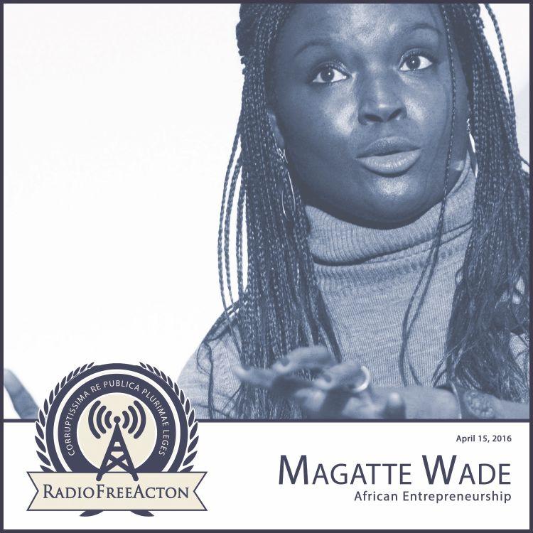 cover art for Magatte Wade on African Entrepreneurship