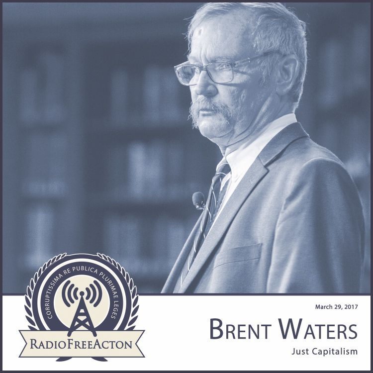 cover art for Brent Waters on just capitalism