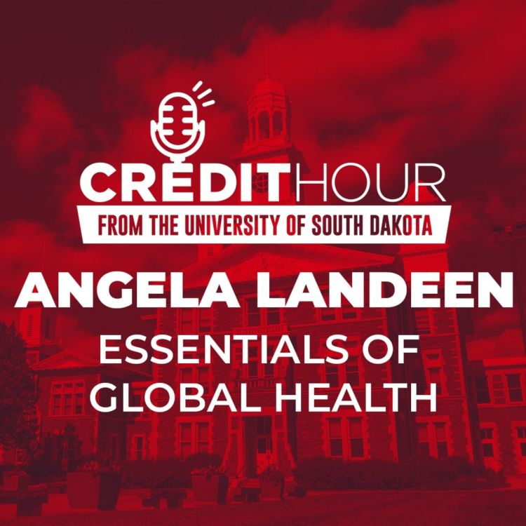 cover art for 103: Angela Landeen - Essentials of Global Health