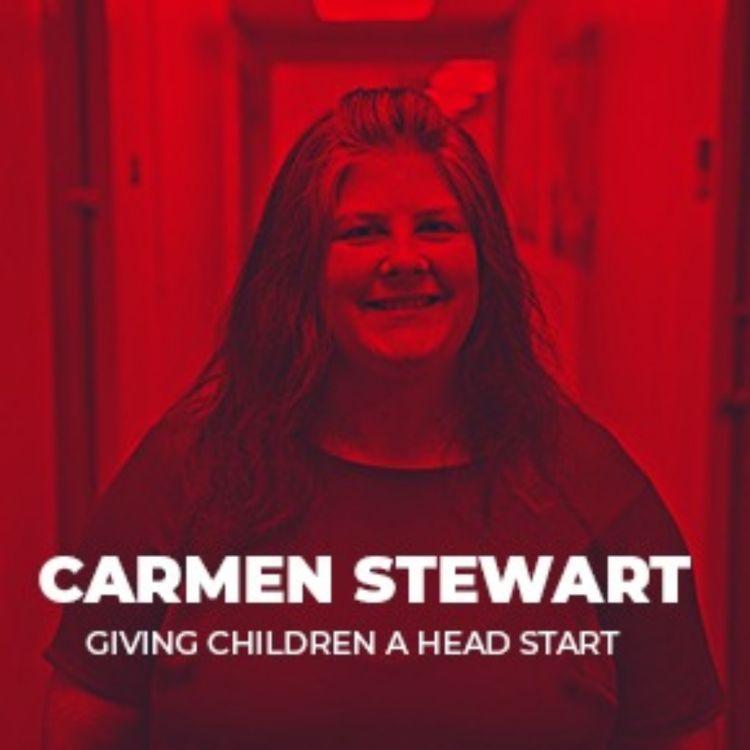 cover art for 116: Carmen Stewart - Giving Children a Head Start