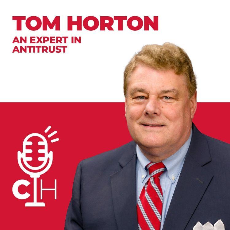 cover art for TOM HORTON   An Expert in Antitrust