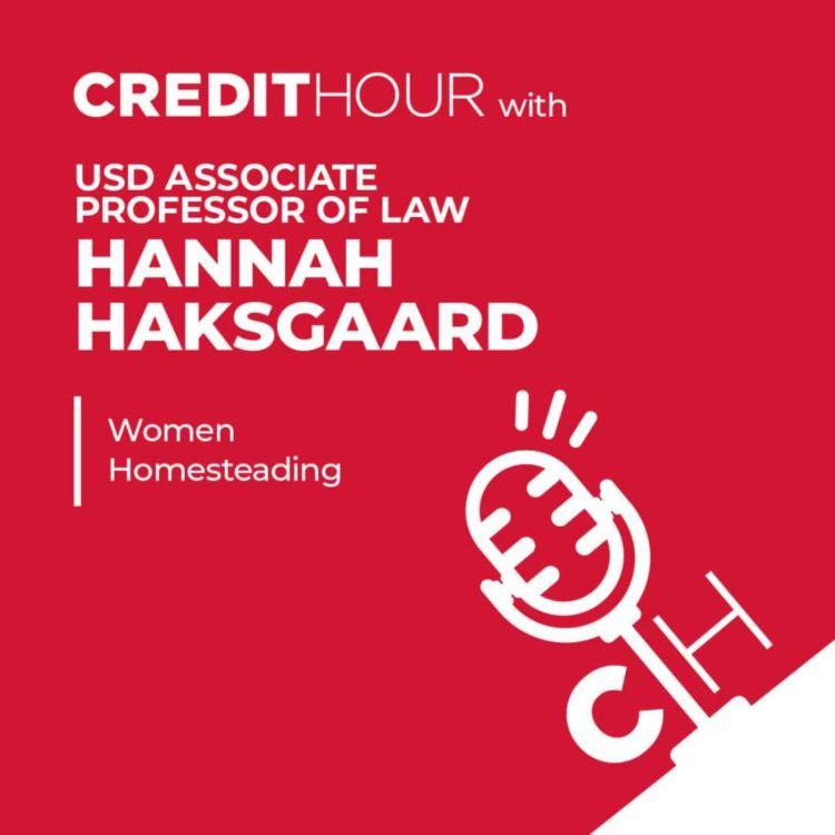 cover art for HANNAH HAKSGAARD   Women Homesteading