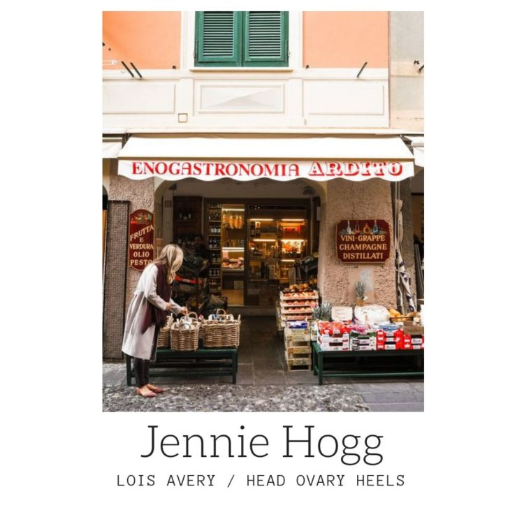 cover art for Jennie Hogg of luxe cashmere line Lois Avery talks about breaking the rules of marketing