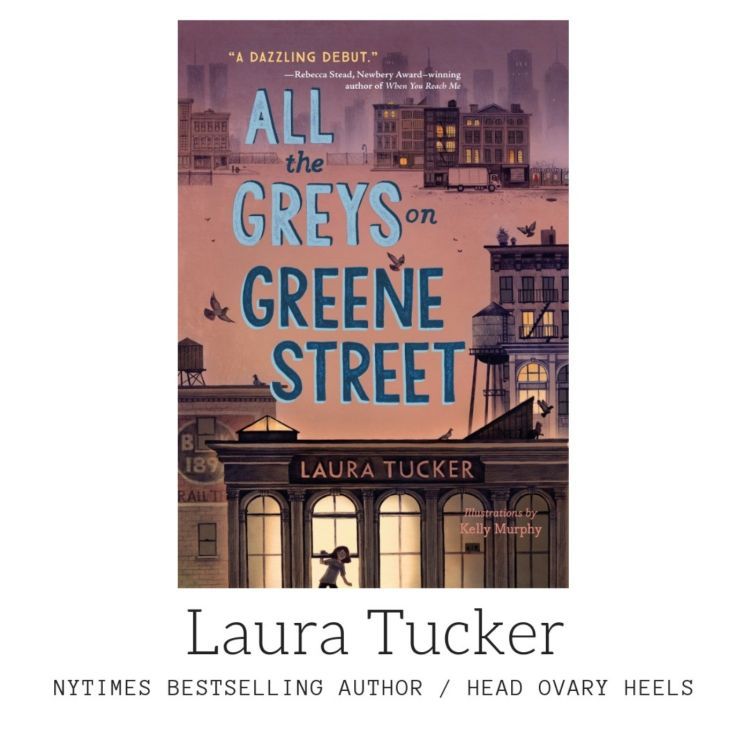 cover art for NYTimes best-selling author Laura Tucker on her YA debut