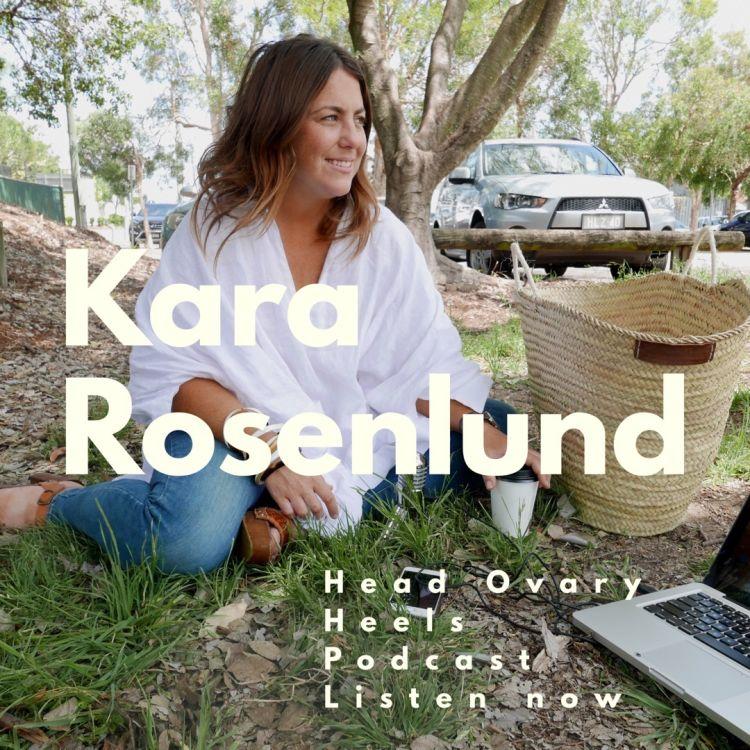 cover art for Kara Rosenlund on Instagram, love and the landscape