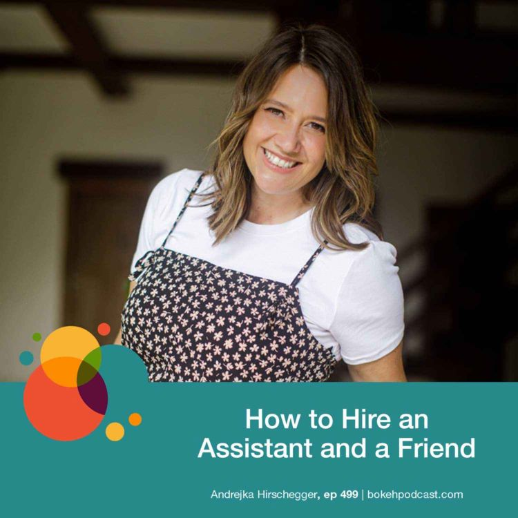 cover art for #499: How to Hire an Assistant and a Friend - Andrejka Hirschegger