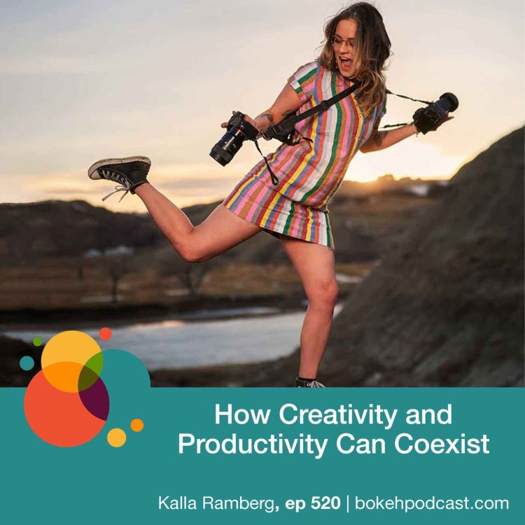 cover art for #520: How Creativity and Productivity Can Coexist - Kalla Ramberg