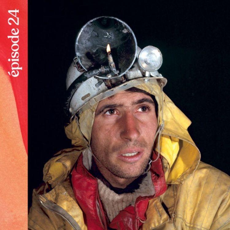 cover art for #24 — 60 jours sous Terre, avec Michel Siffre