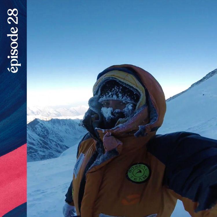 cover art for #28 — S.O.S au-delà de 8 000 mètres, avec Elisabeth Revol