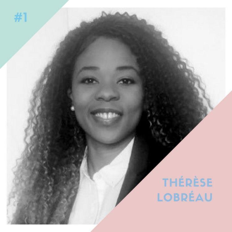 """cover art for #1 - Thérèse : """"Je suis devenue vraiment africaine à la fin de mon Master"""""""