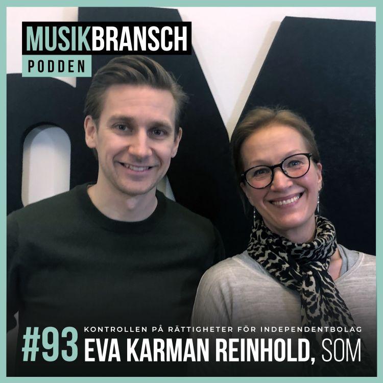 cover art for 93. Eva Karman Reinhold, SOM - Kontrollen på rättigheter för independentbolag [Original]