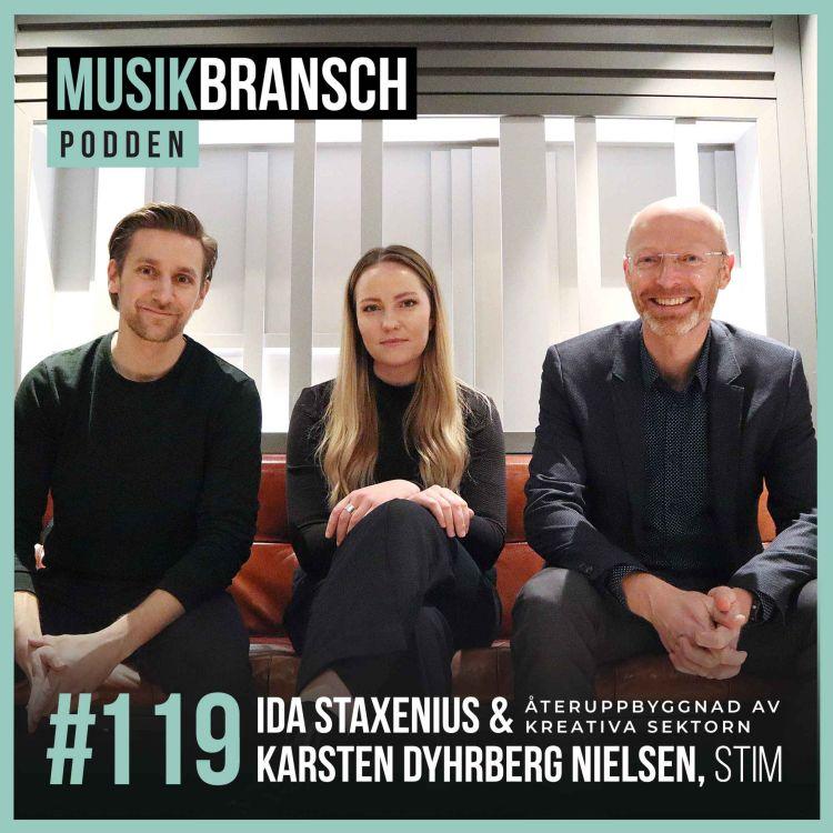 cover art for 119. Återuppbyggnad av kreativa sektorn - Ida Staxenius & Karsten Dyhrberg Nielsen, Stim [Original]