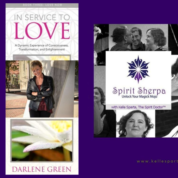 cover art for In Service To Love with Darlene Green