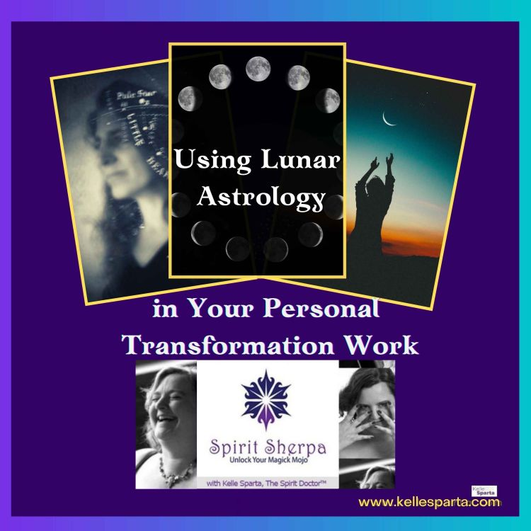 cover art for Using Lunar Astrology in Your Personal Transformation Work