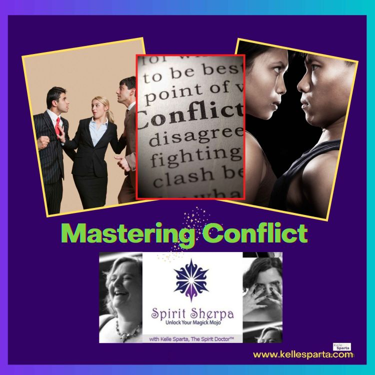 cover art for Mastering Conflict