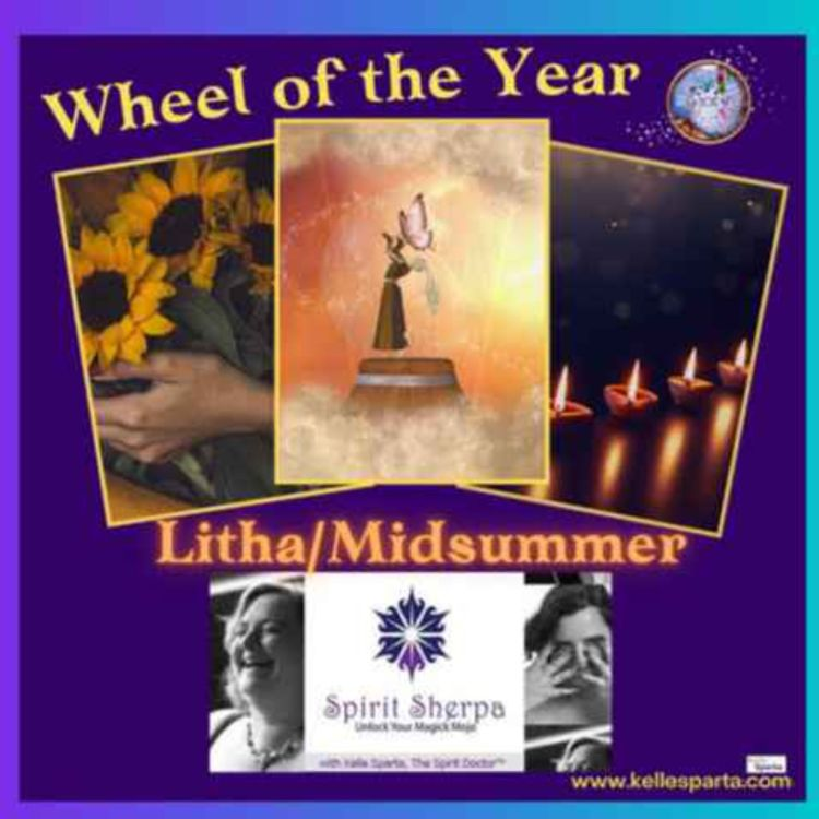 cover art for Wheel of the Year - Litha/Midsummer