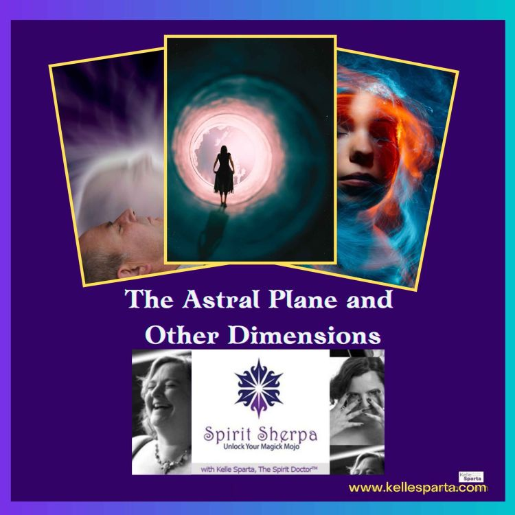cover art for The Astral Plane and Other Dimensions
