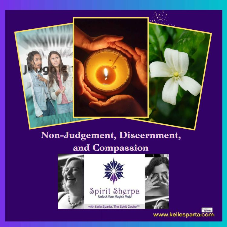 cover art for Non-Judgement, Discernment, and Compassion