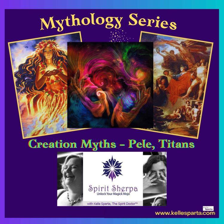 cover art for Mythology Series:  Creation Myths