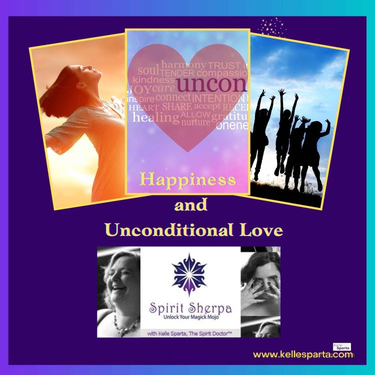cover art for Happiness and Unconditional Love