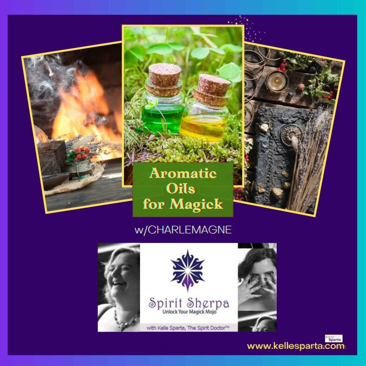 cover art for Aromatic Oils for Magick