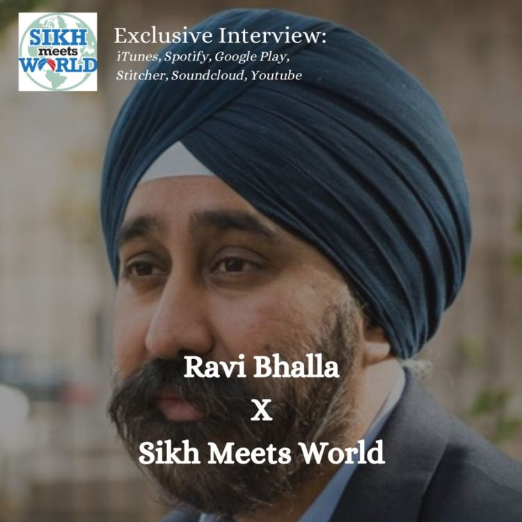 cover art for Ravi Singh Bhalla, Mayor of Hoboken, New Jersey, USA
