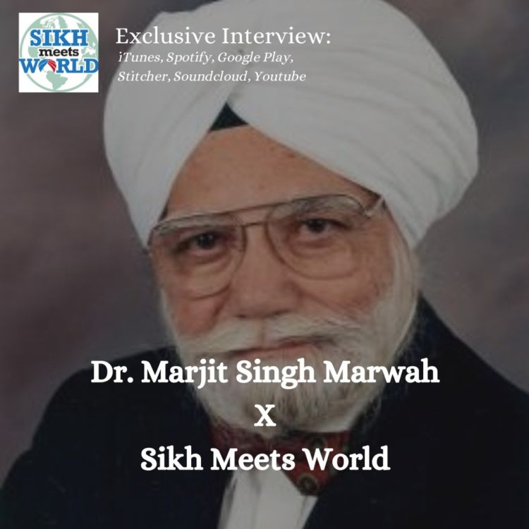 cover art for Dr. Amarjit Singh Marwah, Campaign Manager for the first Sikh Congressman